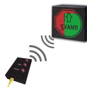Dispositivo Controllo Accessi Manuale Display 64×16 WiFi