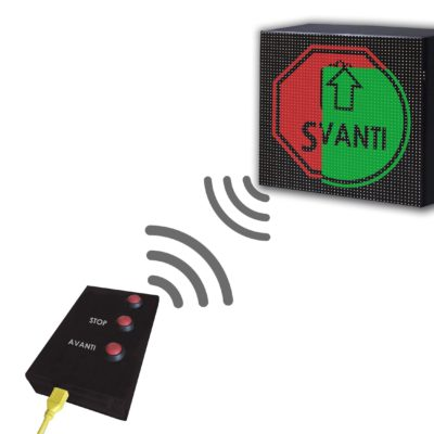 Dispositivo Controllo Accessi Manuale Display 32×32 WiFi