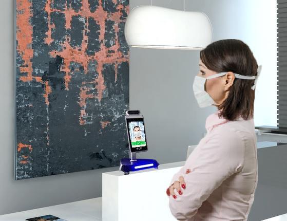 Dispositivo Controllo Accessi e Distanziamento Sociale