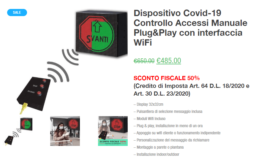 Covid Fase2 Dispositivo Manuale