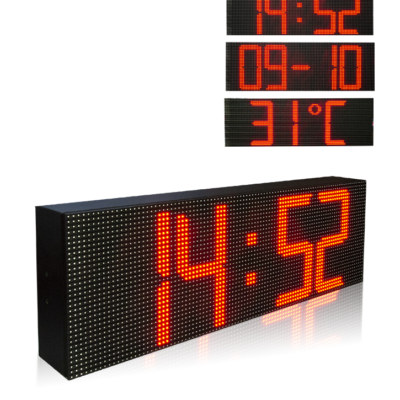 Time Date Temperature LED Display