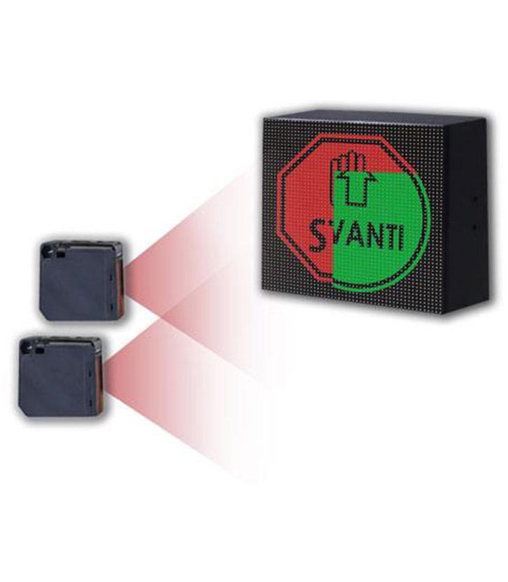 controllo accessi display